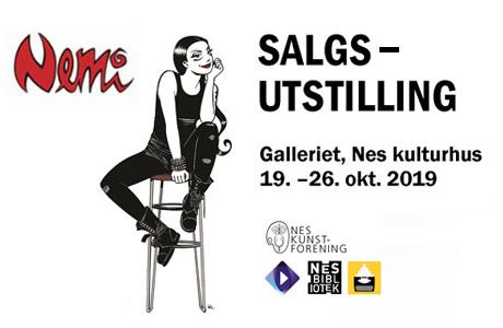Nes Kunstforening - Nemi, Lise Myhre